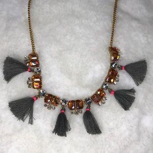 J crew boho necklace !